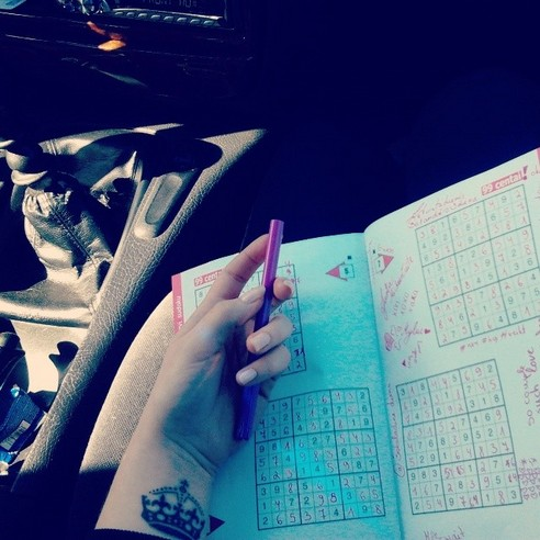 CAR SUDOKU - 21 Inspiring Sudoku Moments Captured by Instagramers #18