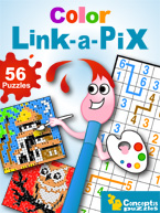 Color Link-a-Pix: Cover