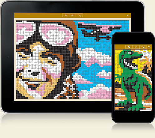 Sym-a-Pix for iPhone, iPad and Android